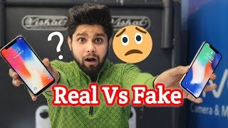 Real Vs Fake iPhone X   How to Spot A Fake iPhone