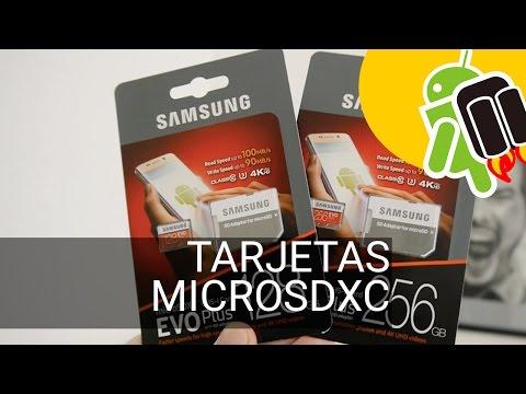 Análisis tarjetas microSD XC Samsung EVO Plus 128 GB y 256 GB