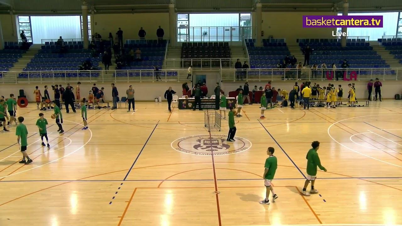 U13M -  CANTERA CANARIAS vs VALENCIA BASKET - III Torneo Infantil Ciudad de Vera (BasketCantera.TV)