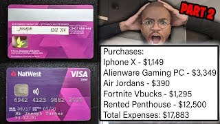 I Put My Credit Card Details Online & People Bought WHATEVER THEY WANTED (HUGE MISTAKE)