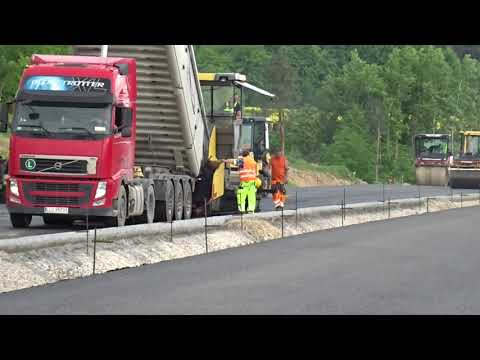 Budowa drogi ekspresowej S19 (obw. m. Kraśnik). Roboty budowlane z dnia 25.05.2021 r.