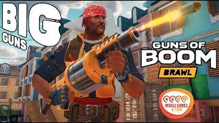 Guns of Boom VULCAN Grenade Launcher Big Guns Brawl Exclusive Gun 1080p 60fps Gameplay