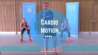 25 minute low impact beginner workout - Cardio Motion by Body Project