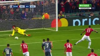 Mile Svilar Vs Manchester United (Away) [Including Penalty Save] 31/10/2017 | HD