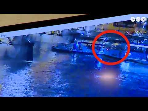 Βουδαπέστη: Εικόνες ντοκουμέντο από τη στιγμή της σύγκρουσης των πλοίων! (βίντεο)