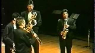 Nicolas PROST  –  Devil's Rag 【 Quatuor de saxophones Emphasis】