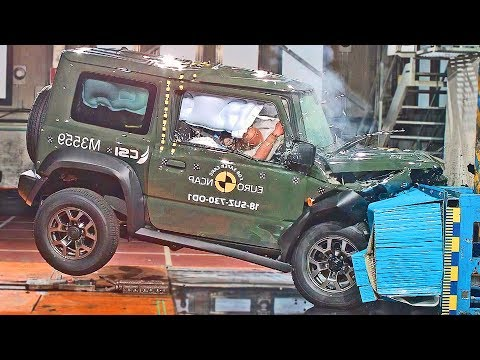 SUZUKI JIMNY (2019) Bad Result To Crash Test