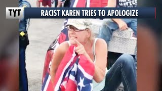 """Racist Karen Backpedals, """"I Blacked Out and Didn't Know What I Was Saying"""" thumbnail"""