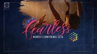 Fearless Women's Conference 2019 Promo