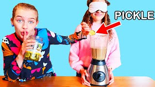 """SOCKIE CHEATED & NO ONE KNEW"" in BLINDFOLD MILKSHAKE Challenge By The Norris Nuts"