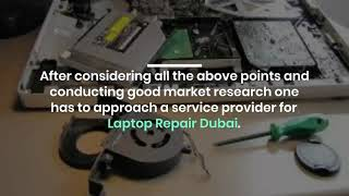 Who Can  Quick Fix your Laptop Repair Issues in Dubai?
