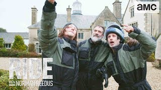 A Walking Reunion In England Talked About Scene Ep. 301 | Ride With Norman Reedus