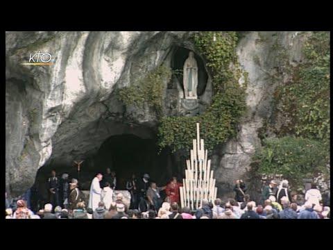 Chapelet à Lourdes du 22 septembre 2019