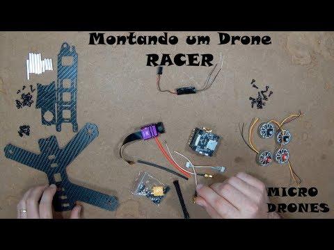 Fort X F4 Montando um Drone Racer em 30 minutos!!!