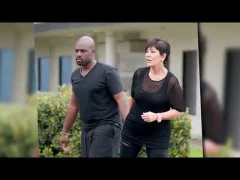 Kris Jenner Cuddles Up to New Man Corey Gamble | Splash News TV | Splash News TV