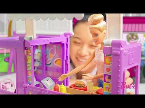 Barbie Camion de nourriture (sans poupée)