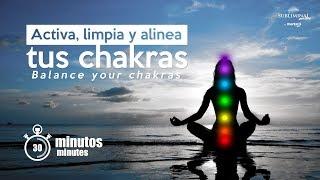 Alineacion De CHAKRAS. Limpiar Los 7 Chakras. Comprobado!