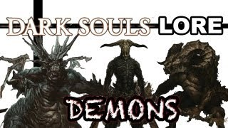Guardians of Chaos - Dark Souls Lore: Demons
