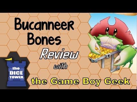 The Game Boy Geek (Dice Tower) Reviews Buccaneer Bones