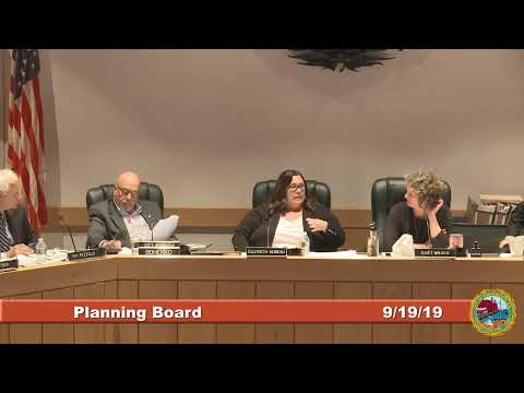 Planning Board 9.19.2019
