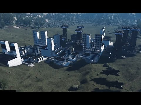 Dual Universe Community-Made Outposts Trailer