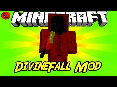 """Minecraft Mods:    """"  DivineFall Mod   1. 7. 10 """""""