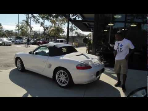 Autoline's 2004 Porsche Boxster Roadster Wheels Walk Around Review Test Drive