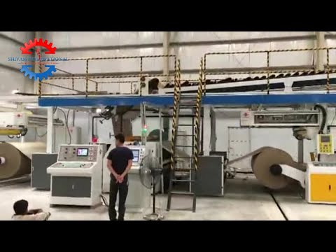 Automatic 5 Ply Corrugated Box Making Machinery