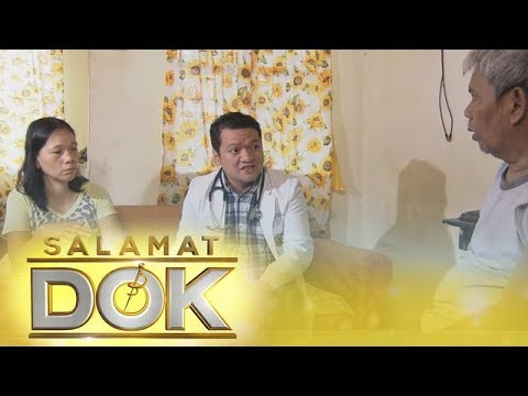[ABS-CBN]  Salamat Dok: Dr. Ryan Elrey Navarro checks Mr. and Mrs. Nisperos's current condition