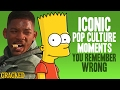 Iconic Pop Culture Moments You Remember Wrong - Cracked