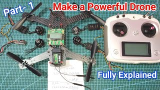 How to Make Quadcopter | How to Make Drone | Explain in Hindi