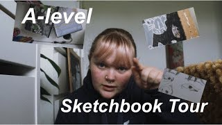 A-level Art Sketchbook Tour//partially