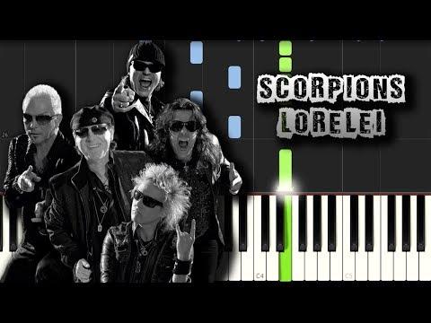 Scorpions- Lorelei - Piano Tutorial Synthesia (Download MIDI)