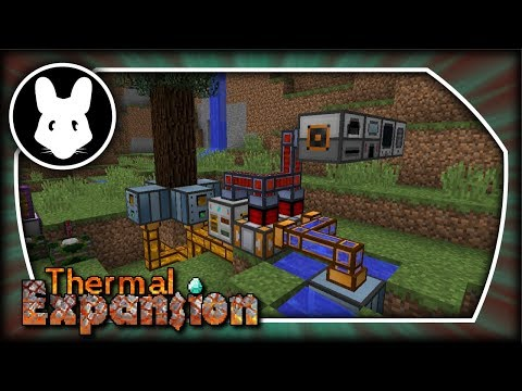 Thermal Expansion: Infinite Renewable Energy Early Game! Minecraft 1.10+