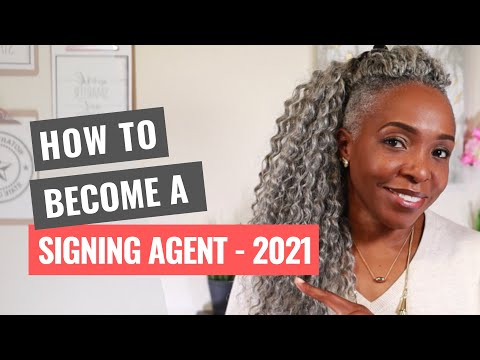 How to Become a Notary Loan Signing Agent in 2021 - YouTube