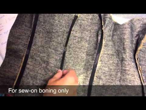 097c71e02 Como confeccionar el corset 2ª parte