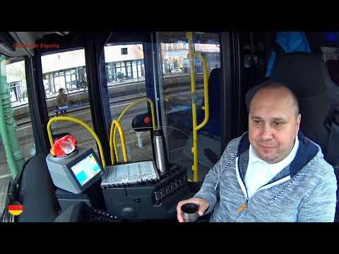 Как выглядит рабочий день водителя автобуса в Германии? Смотрим. Часть 2