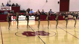 NCC Dance team - Neon Tree Everybody Talks routine North Central College Naperville Il