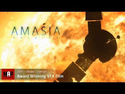 "Live Action CGI VFX Animated Short ""AMASIA"" Amazing Sci-Fi film by Artfx School"