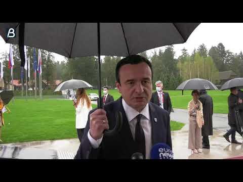 Sastaju se Kurti i Vučić sa Makronom i Angelom Merkel (VIDEO)