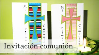 COMUNIÓN: Invitaciones - first communion invitation