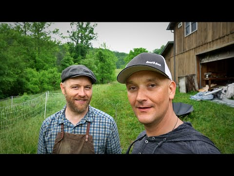 A Day On The Homestead W/ Justin Rhodes (Rain Or Shine)