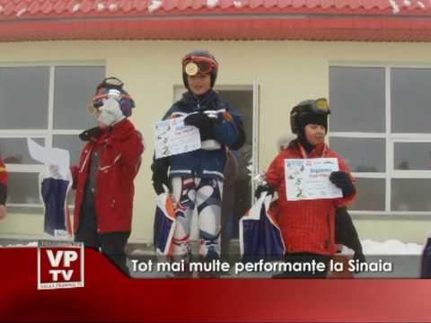 Tot mai multe performanţe în Sinaia