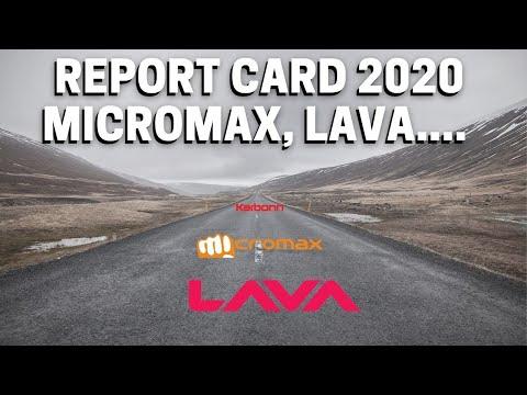 Report Card 2020: Micromax, Lava, Karbonn
