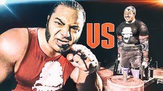 VEGAN BADASS strikes again?! Patrik Baboumian VS Pascal - Strength Wars League 2k17 #6
