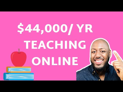 Online Teaching Jobs From Home (Make up to $40,000)