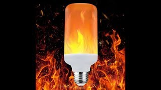 Solocil Flammeneffect LED Lampe