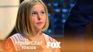 Sarah's Sardines Wow The Judges | Season 1 Ep. 4 | MASTERCHEF JUNIOR
