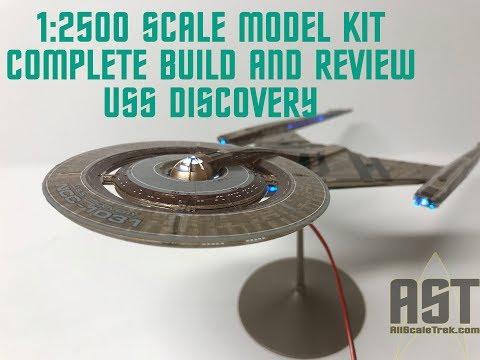 Star Trek USS Discovery NCC-1031 Model Kit Polar Lights POL961 pol 961