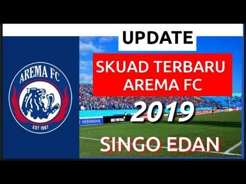 SKUAD TERBARU AREMA FC 2019,UPDATE SKUAT AREMA FC 2019.